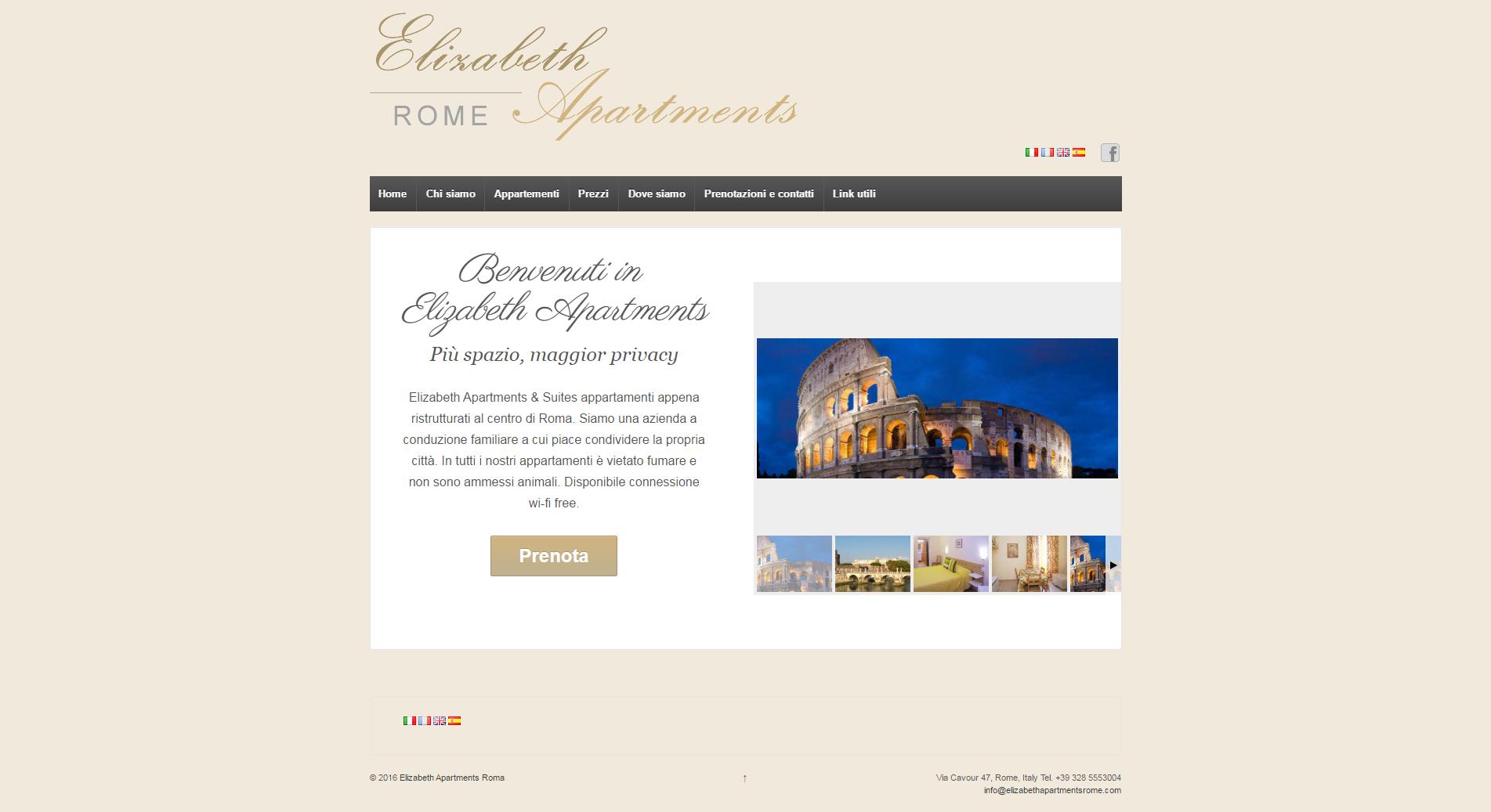 Elizabeth Apartments Rome