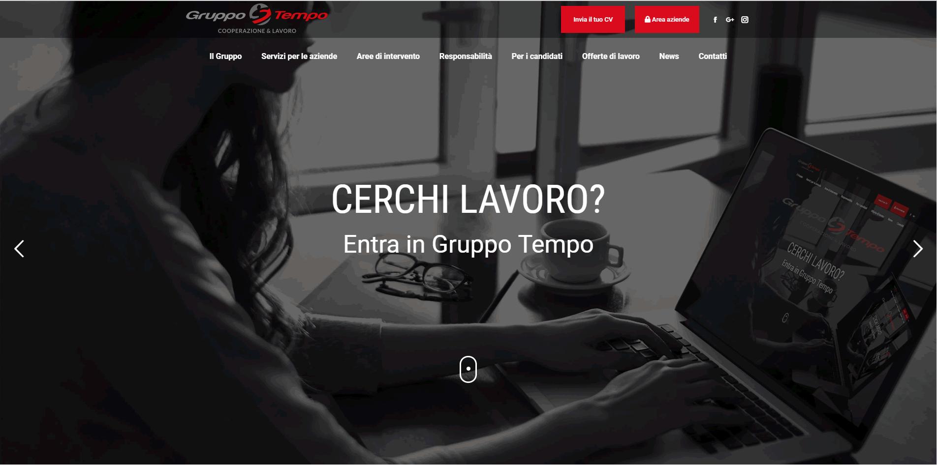 Gruppo Tempo realizzazione sito web responsive agenzia web roma