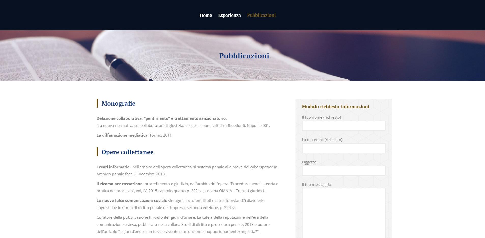 maurizio fumo of counsel sito ufficiale